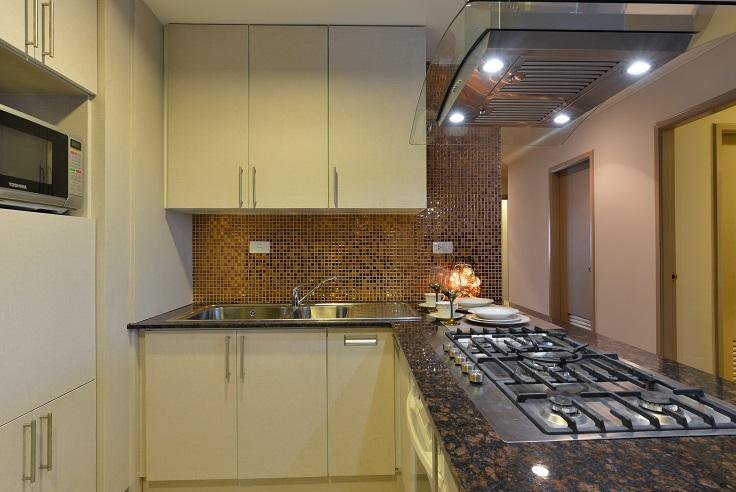 GP Grande Tower apartment for rent 3 bedroom kitchen